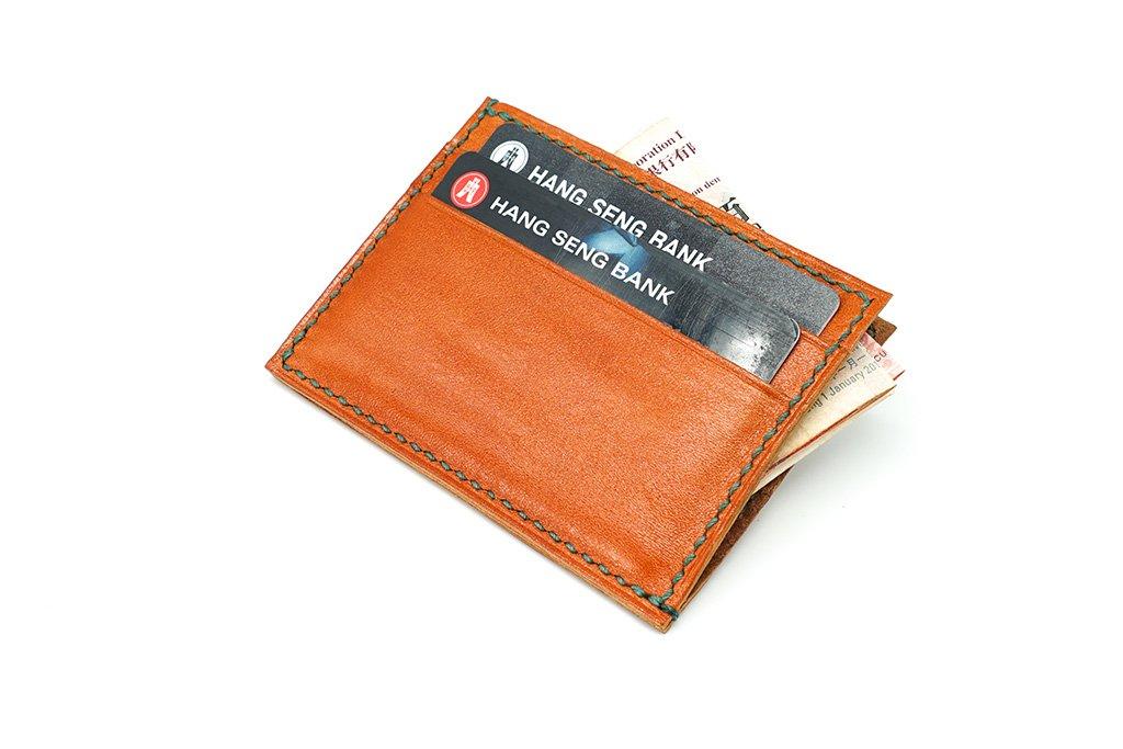 【自製DIY皮革課程】卡片套 : 証件套 : 八達通套CH006