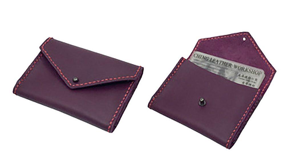 【自製DIY皮革課程】卡片套 : 証件套 : 八達通套CH010