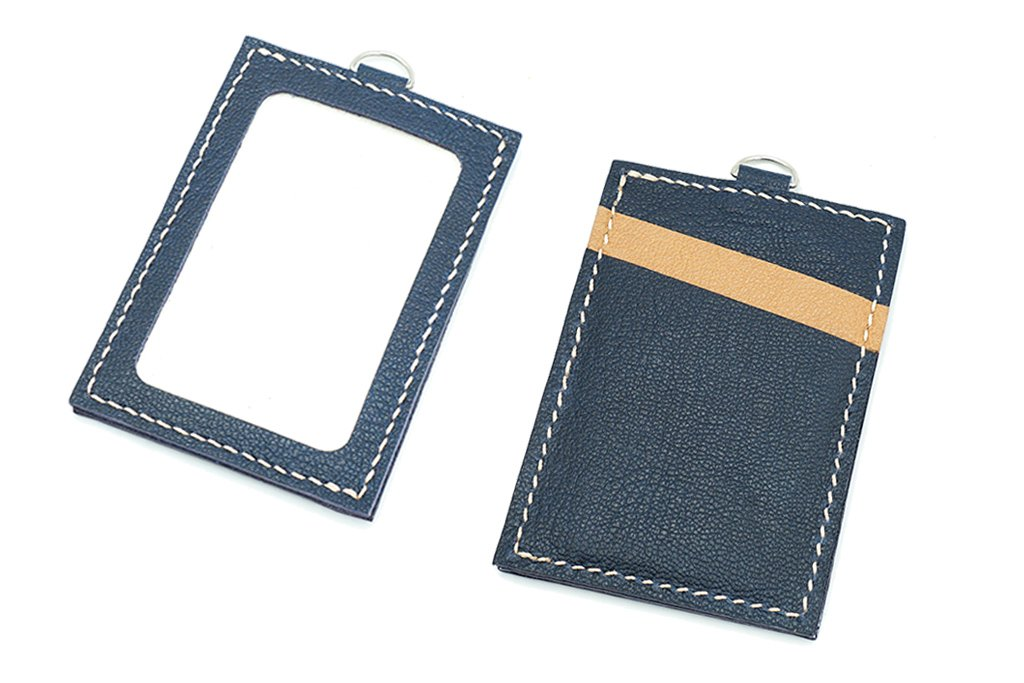 【自製DIY皮革課程】卡片套 : 証件套 : 八達通套CH016-A