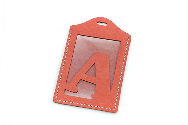 【自製DIY皮革課程】卡片套 : 証件套 : 八達通套CH017