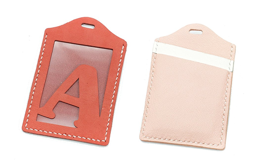 【自製DIY皮革課程】卡片套 : 証件套 : 八達通套CH017-A