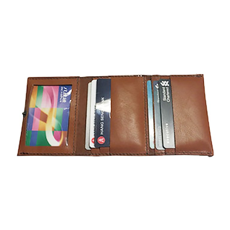 【自製DIY皮革課程】卡片套 : 証件套 : 八達通套CH021-3